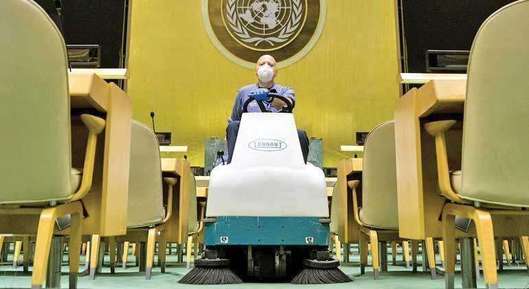 شروع متفاوت ترین نشست سازمان ملل